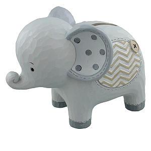 Elephant Resin Money Bank