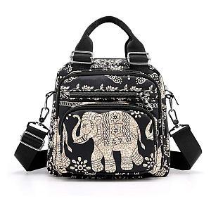 Elephant Tote Shoulder Bag
