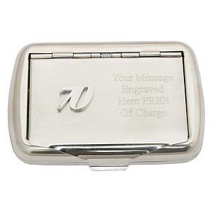 Engraved 70th Birthday Tobacco Tin