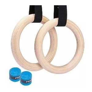 Non-Slip Pull Ups and Dip Training Rings