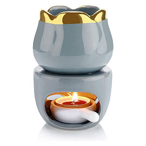Essential Oil Burner with Tealight Spoon