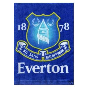Everton Crest Face Cloth