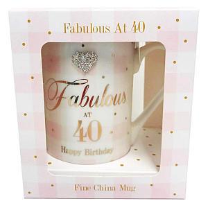 Fabulous 40th China Mug