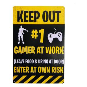 Fortnite Door Sign