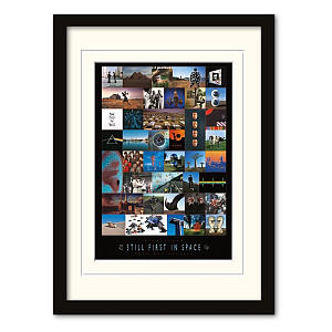Framed Pink Floyd Print