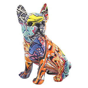 French Bulldog Graffiti Art Ornament