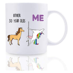 Funny 30th Unicorn Mug