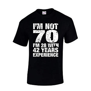Funny 70 Year Old Men's T-Shirt