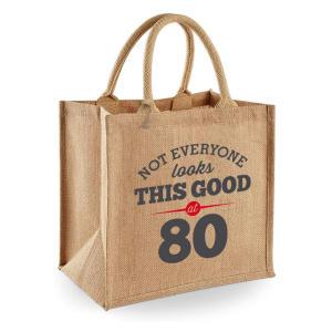 Funny 80th Tote Bag