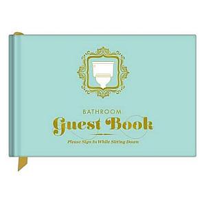 Funny Bathroom Guest Book