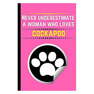 Funny Cockapoo Notebook