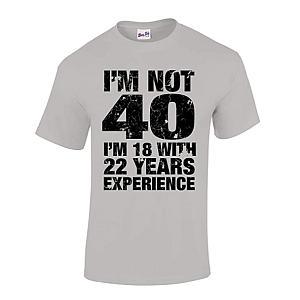 Funny Men's 40th T-Shirt