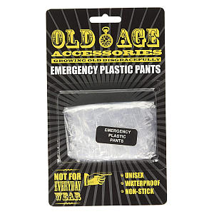 Funny Old Age Emergency Pants