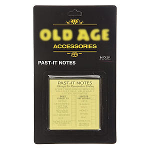 Funny Old Age Past-It Notes