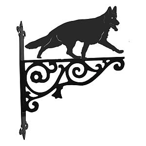 German Shepherd Ornamental Hanging Bracket