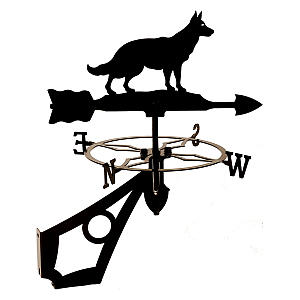 German Shepherd Weather Vane