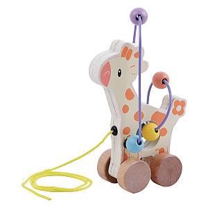 Giraffe Pull Along Toy