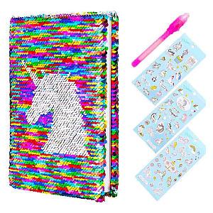 Girls Secret Sequin Unicorn Diary