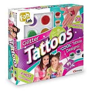 Glitter Tattoos Set