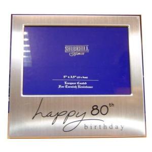 Happy 80th Birthday Photo Frame