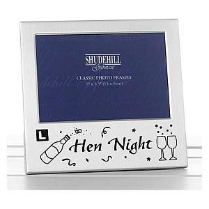 Hen Night Silver Photo Frame