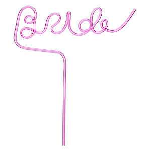 Hen Party Bride Straw