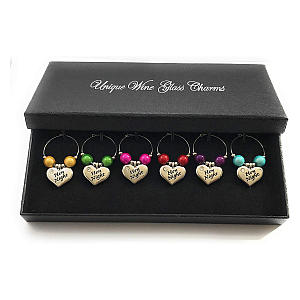 Hen Party Glass Charms