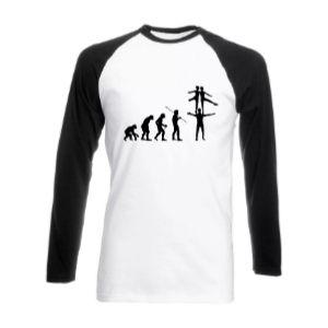 Circus Acrobat Evolution Unisex T Shirt
