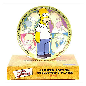 Homer Simpson Collector Plate