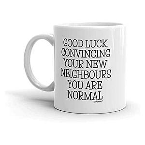 Humorous Housewarming Mug