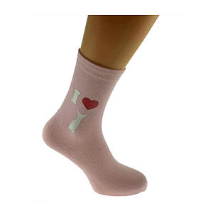 I Love Chihuahuas Ladies Pink Socks