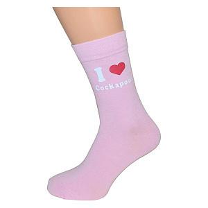 I Love Cockapoos Socks