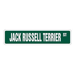 Jack Russell Decorative Sign