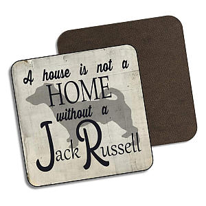 Jack Russell Drinks Coaster