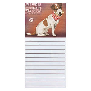 Jack Russell Magnetic Notebook
