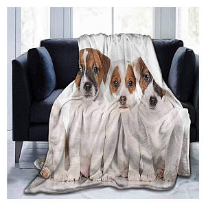 Jack Russell Soft Throw
