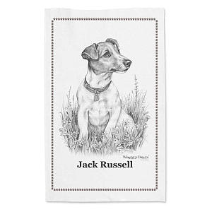 Jack Russell Tea Towel