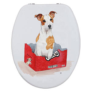 Jack Russell Toilet Seat