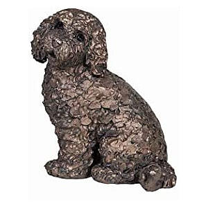 Jasper Cockapoo Sitting Sculpture