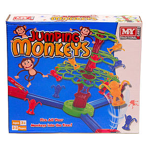 Jumping Monkeys Traditional Board Game