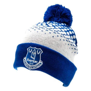 Knitted Everton Bobble Hat