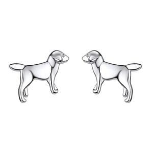 Labrador Dog Stud Earrings