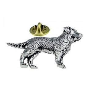 Labrador English Lapel Pin Badge