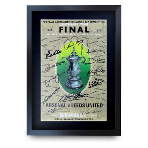 Leeds FA Cup 1972 Poster