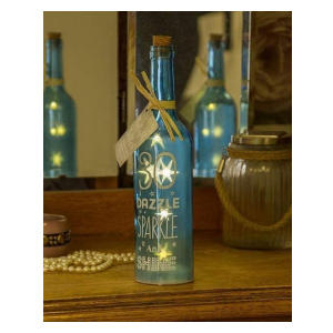 Light-Up LED 30 Glass Starlight Bottle