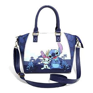 Lilo & Stitch Dark Blue Satchel Bag