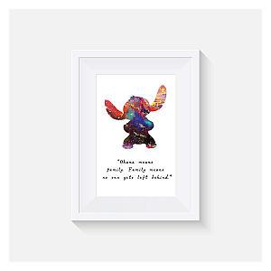Lilo and Stitch Inspired Print