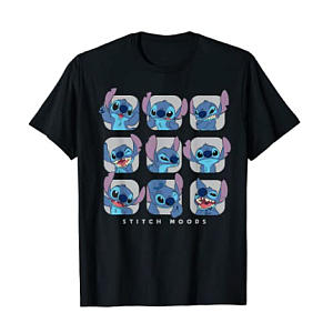 Lilo and Stitch Moods T-Shirt