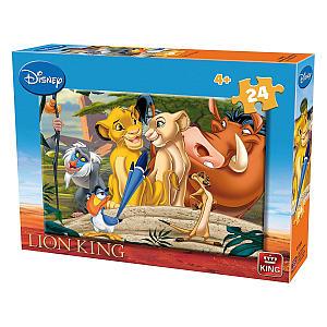 Lion King 24 Piece Jigsaw Puzzle