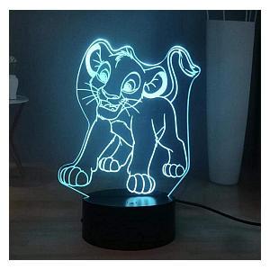 Lion King 3D Led Night Light